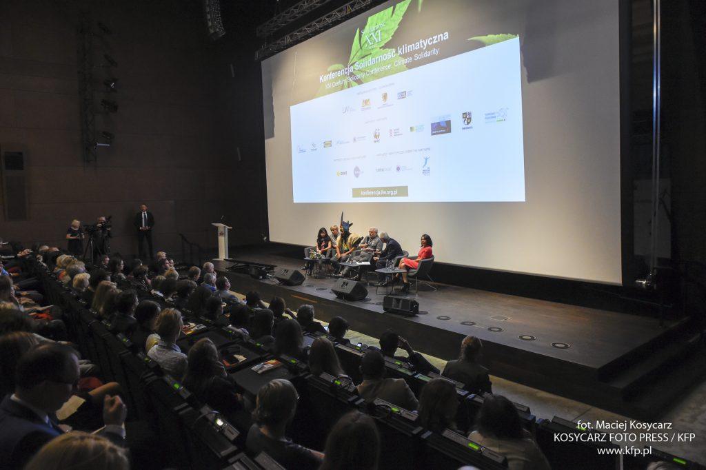 Konferencja zgromadziła w Europejskim Centrum Solidarności kilkuset gości.