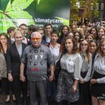 Lech Wałęsa spoke with the representatives of the Youth Climate Strike, expressing his support for their actions.